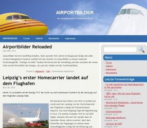 AIRPORTBILDER im neuen Design