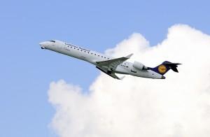 Der reguläre Flugverkehr ging weiter